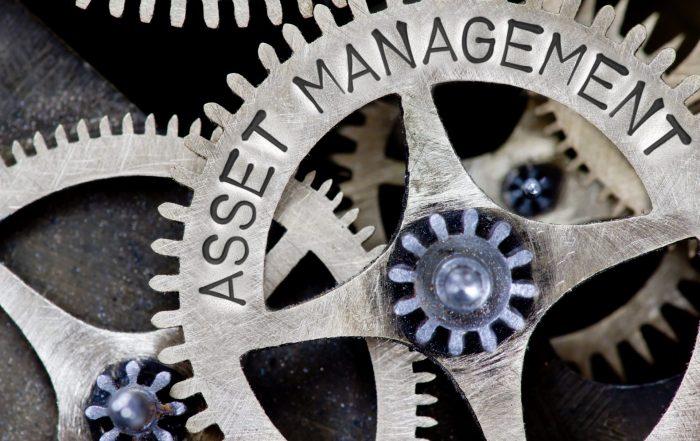 Gears that say Asset Management - Asset Management System - MATE PCS